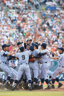 2014 High School Baseball at Yokohama Stadium