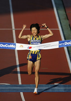 2007 Mizuki Noguchi at National Stadium