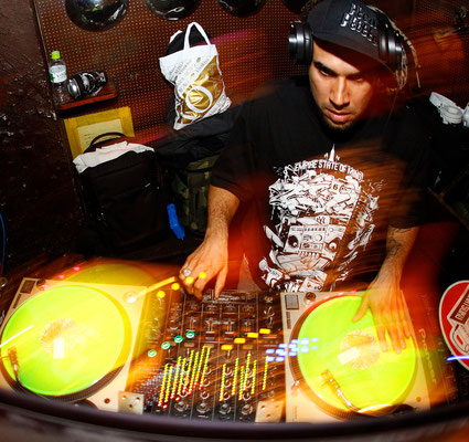 20120424 DJ DP-ONE at Shibuya The Room