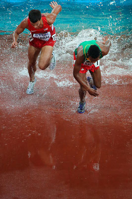2015 3000 metres steeplechase at Beijing National Stadium