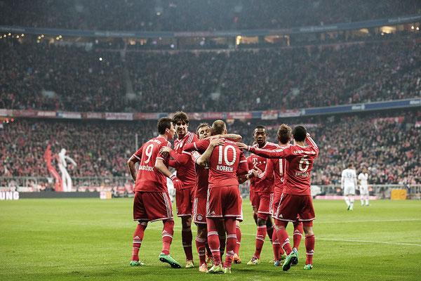 2014 FC Bayern München at Allianz Arena