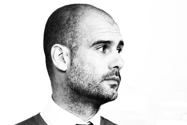 2014 Josep Guardiola at Allianz Arena