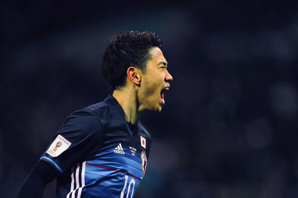2017 Shinji Kagawa at Saitama Stadium 2002