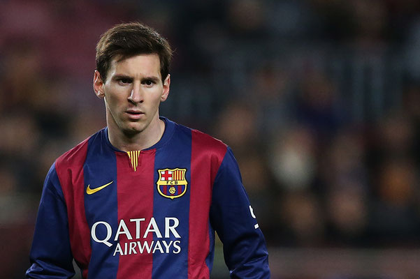 2015 Lionel Messi at Camp Nou