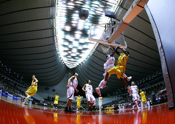 2009 Basketball JBL at Yoyogi 1st Gymnasium