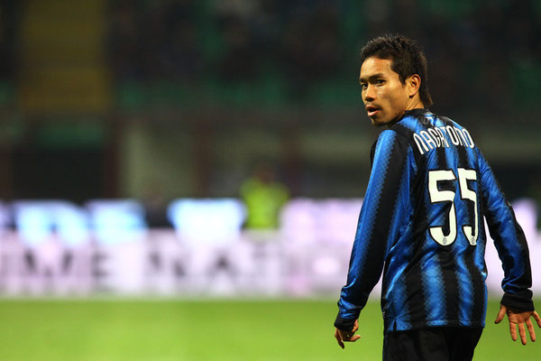 2011 Yuto Nagatomo at Stadio Giuseppe Meazza