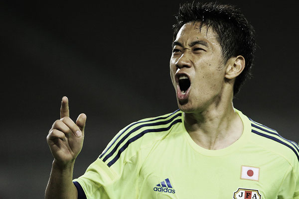 2014 Shinji Kagawa at Raymond James Stadium