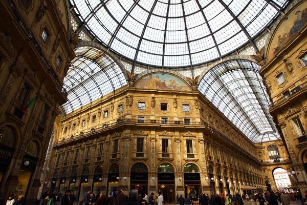 Galleria Vittorio Emanuele II, Milano, Itary