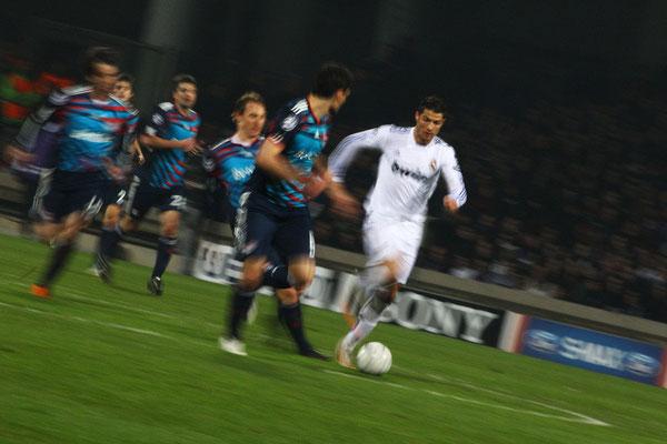 2011 Cristiano Ronaldo at Stade de Gerland