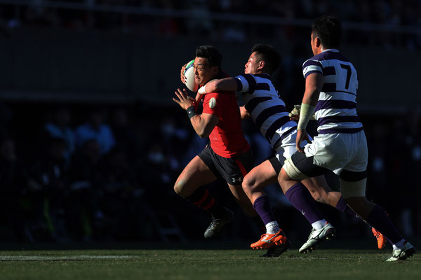 2018 All-Japan University Rugby Championship at Prince Chichibu Memorial Stadium