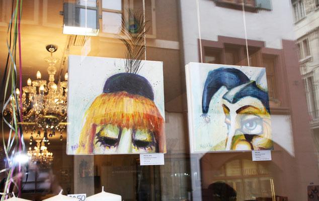 Pierrot und Ueli in Basel, 2016.