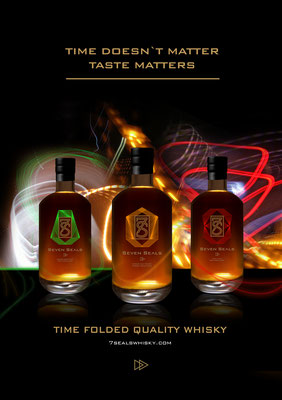 7Seals Whisky, Inserat Entwicklung & Umsetzung, 2019
