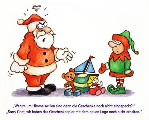 Weihnachtskarte I, AMB, 2015