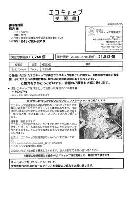 2020/06/05 送付実績3,268個