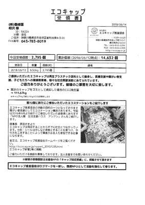 2018/06/12 送付実績2,795個