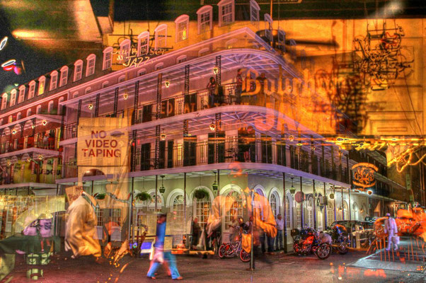 JAZZ ON BOURBON (113 x 75, C-Print, Acryl)