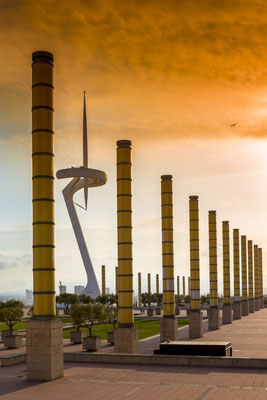 Calatrava Telekommunikationsturm Montjuic, Barçelona