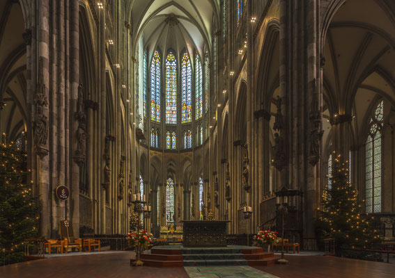 Köln, Dom, Impressionen des Innenraums ©Gerold Guggenbühl