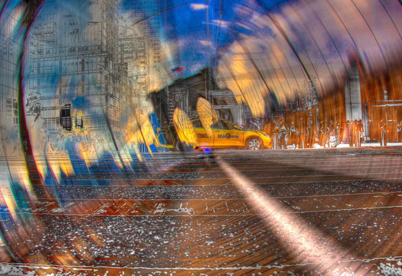 CAB ON BROOKLYN (88 x 61, C-Print, Acryl CHF 150'000)