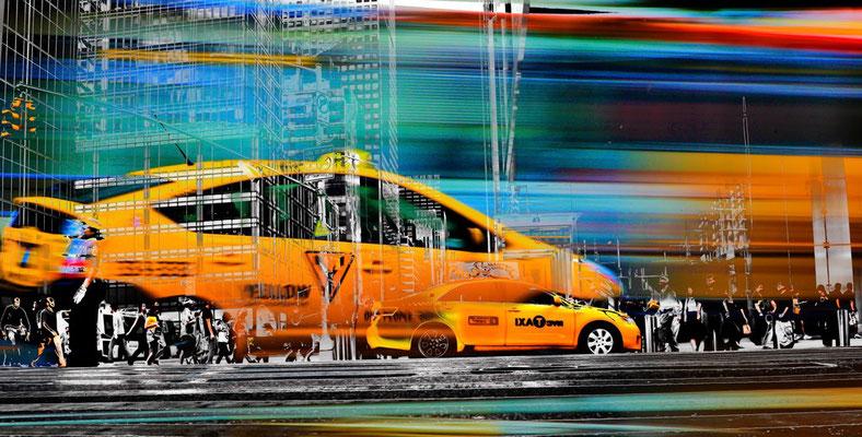 TAXI DRIVE (158 x 80, C-Print, Acryl)