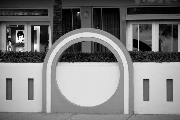 Miami Hotel door