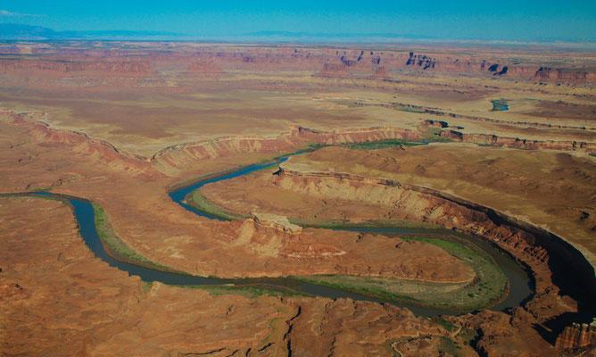 Südwesten USA (aus der Luft)