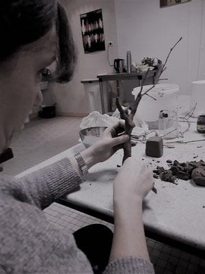 geraldine jannot atelier animation sculpture