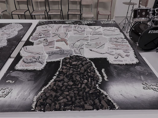 geraldine jannot / atelier animation / mozaique