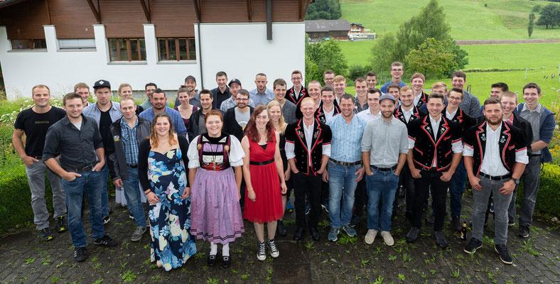 Alle erfolgreichen jungen Berufsleute aus dem BBZN Schüpfheim