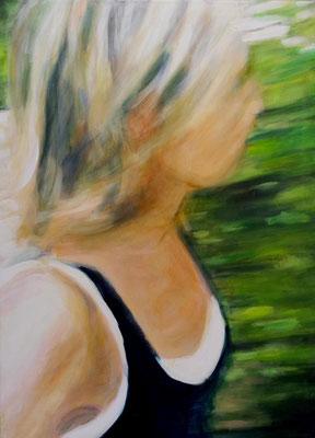 Stephanie Nückel     Rush  110 x 80 cm   Acryl auf Leinwand   2018   für P.F.
