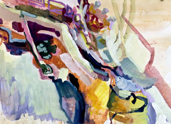 3    Acryl on paper   63 x 50 cm   2015