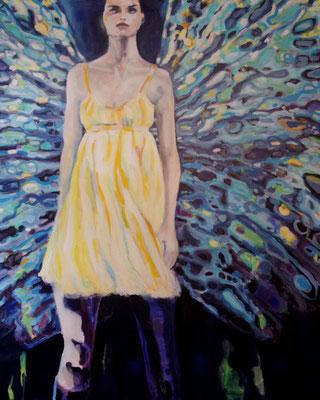 Stephanie Nückel     Transformation   160 x 130 cm  Acryl auf Leinwand  2018  für E.T.