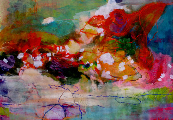 13    Acryl on paper    63 x 50 cm   2015