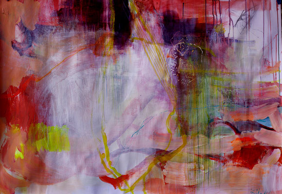 10    Acryl on paper   100 x 70 cm   2016