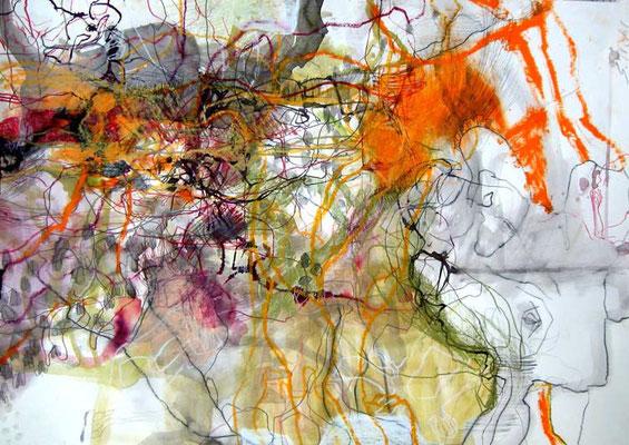 6    Acryl on paper 70 x 50 cm   2013