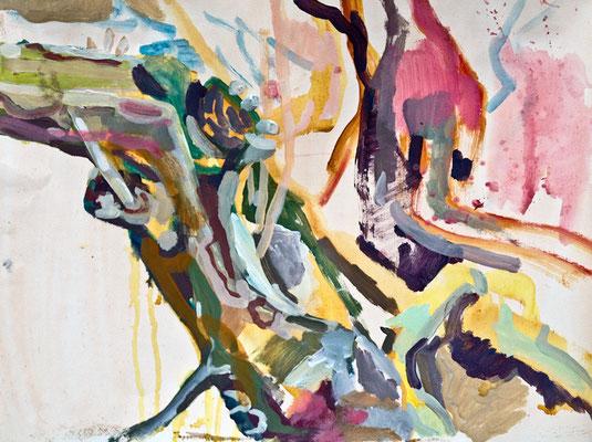2    Acryl on paper   63 x 50 cm   2015