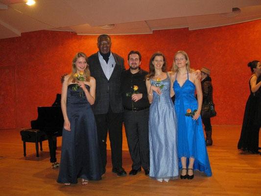 Concerto insime al Prof. Toliver e le mie colleghe. :)