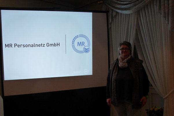 Anja Markoc stellt das Projekt MR Alltagshilfe vor
