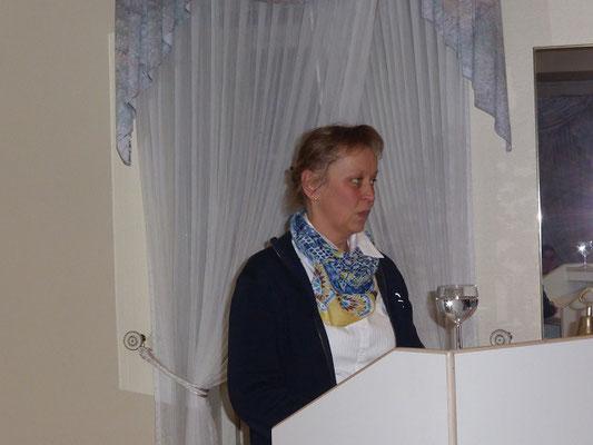 Heide Hannsen erzählt ihre Erfahrungen des ersten Jahres im Landesverband
