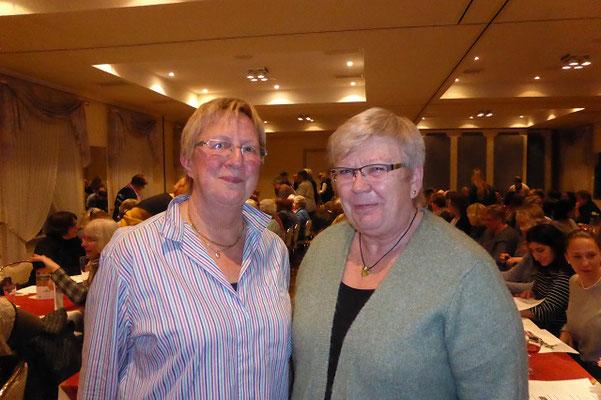 Telse Feldhusen bedankt sich bei Frau Liehmann-Kress für die Durchführung der Hygienebelehrung