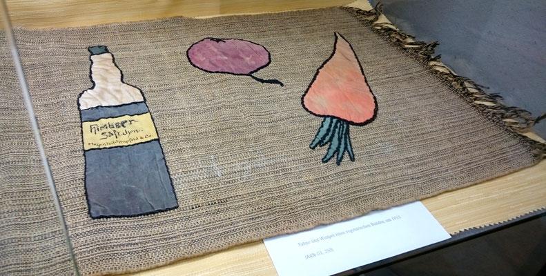 Fahne eines vegetarischen Bundes, Ausstellung im AdJb