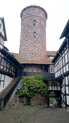 Innenhof Burg Ludwigstein