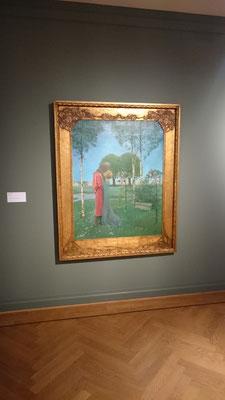 """Heinrich Vogeler in der Ausstellung """"""""Kuss. Von Rodin bis Bob Dylan"""""""