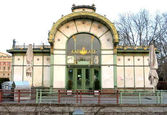 Otto Wagner Pavillon am Karlsplatz