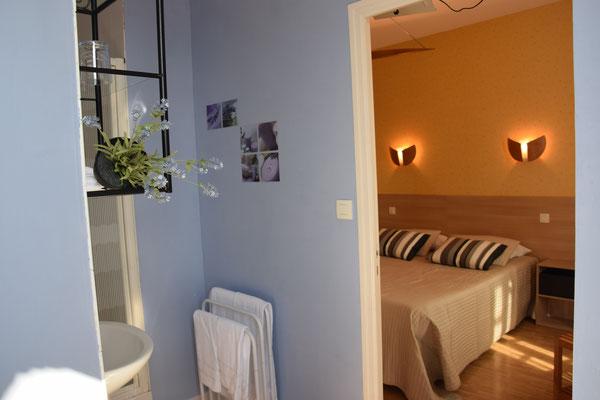 Chambre d'hôtel Fougères