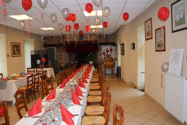 Mariage restaurant Vendel Fougères