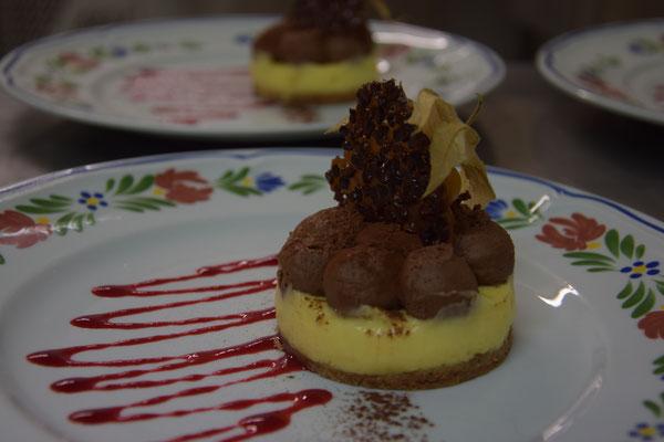 Chocolat, citron, desserts du Chef Nicolas Beaulieu Restaurant Vendel