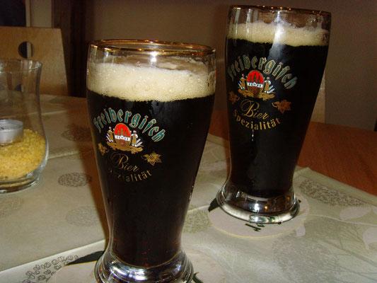 Und abends erst mal wieder ein Bier! :D