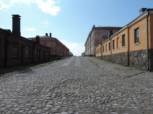 Hier leben tatsächlich noch Finnen, die versuchen sich mit den Touristen zu arrangieren