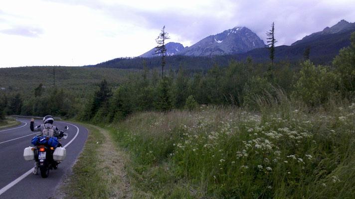 Wir kamen dem Berg immer näher...
